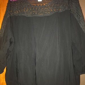 Black Ariat blouse